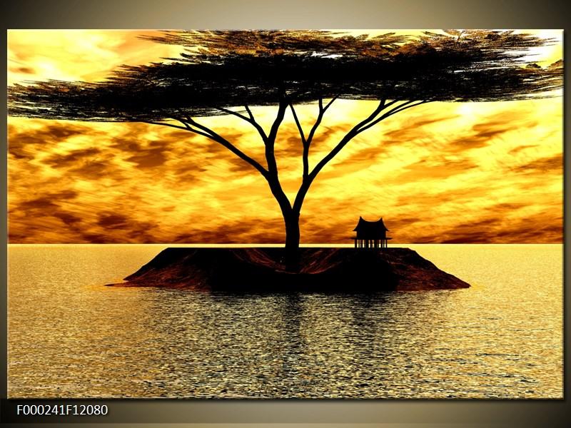 Obraz ostrov v moři (F000241F12080)