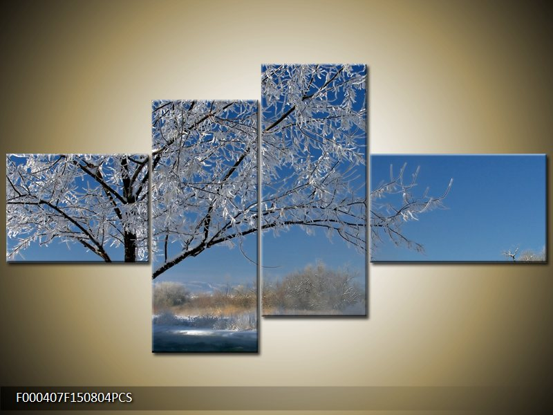 Obraz strom v zimě (F000407F150804PCS)