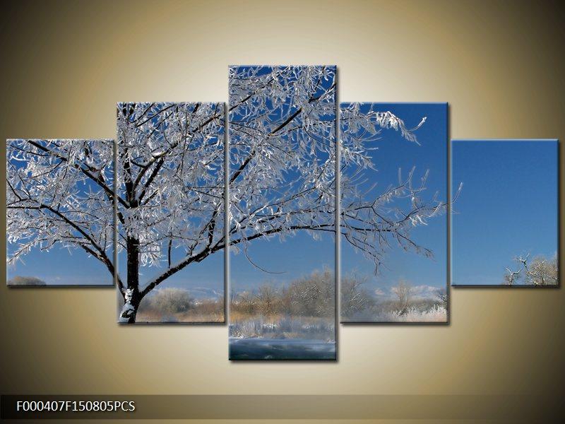 Obraz strom v zimě (F000407F150805PCS)