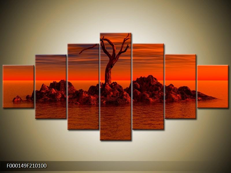 Obraz strom v moři (F000149F210100)