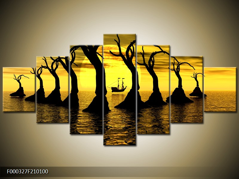 Obraz stromy v moři (F000327F210100)