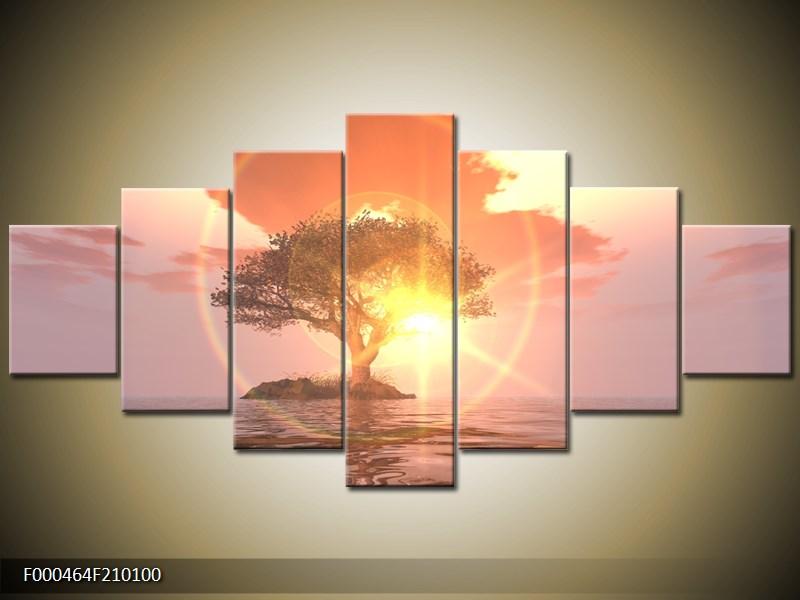 Obraz strom v moři (F000464F210100)
